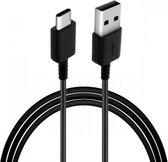 Samsung USB-A naar USB-C Kabel Origineel Zwart 0.8 Meter