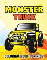Monster Truck Coloring Book For Kids