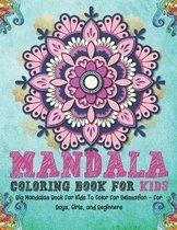 Mandala Coloring Book For Kids
