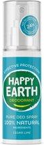 Happy Earth Pure Deodorant Spray Cedar Lime 100 ml - 100% natuurlijk