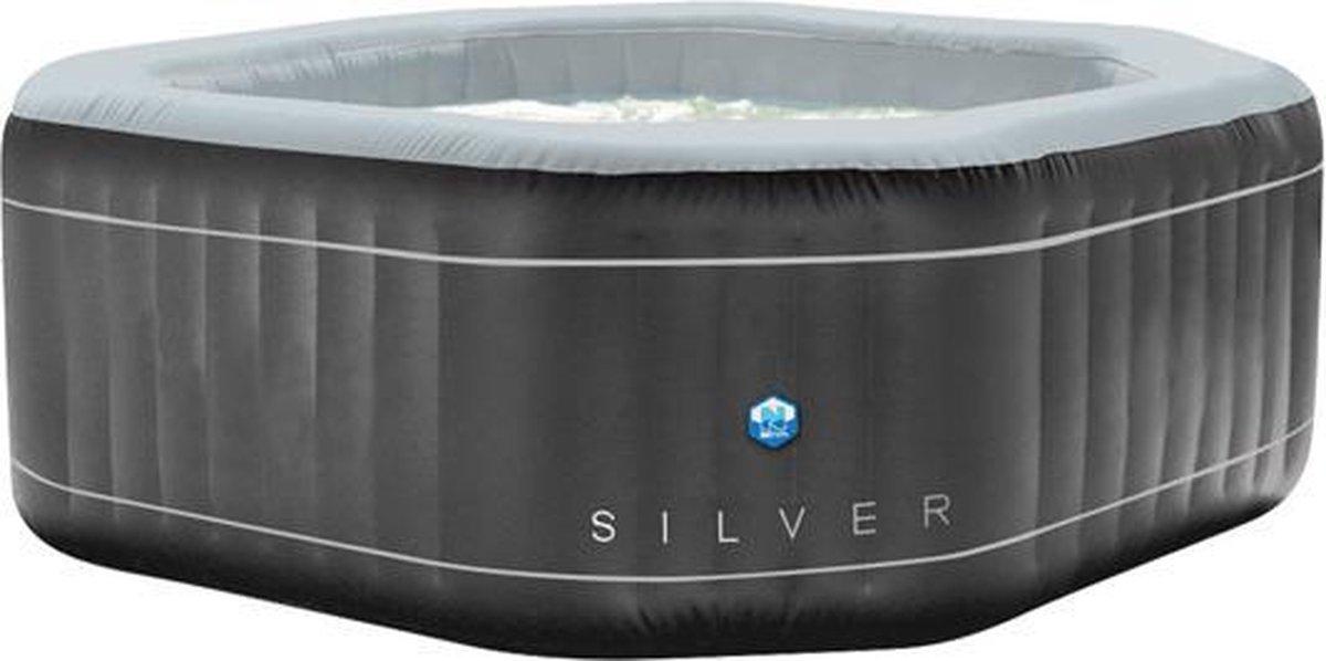 NETSPA® Silver - Opblaasbare Jacuzzi - Hottub - Jacuzzi voor 5 Personen -Opblaasbare Spa -