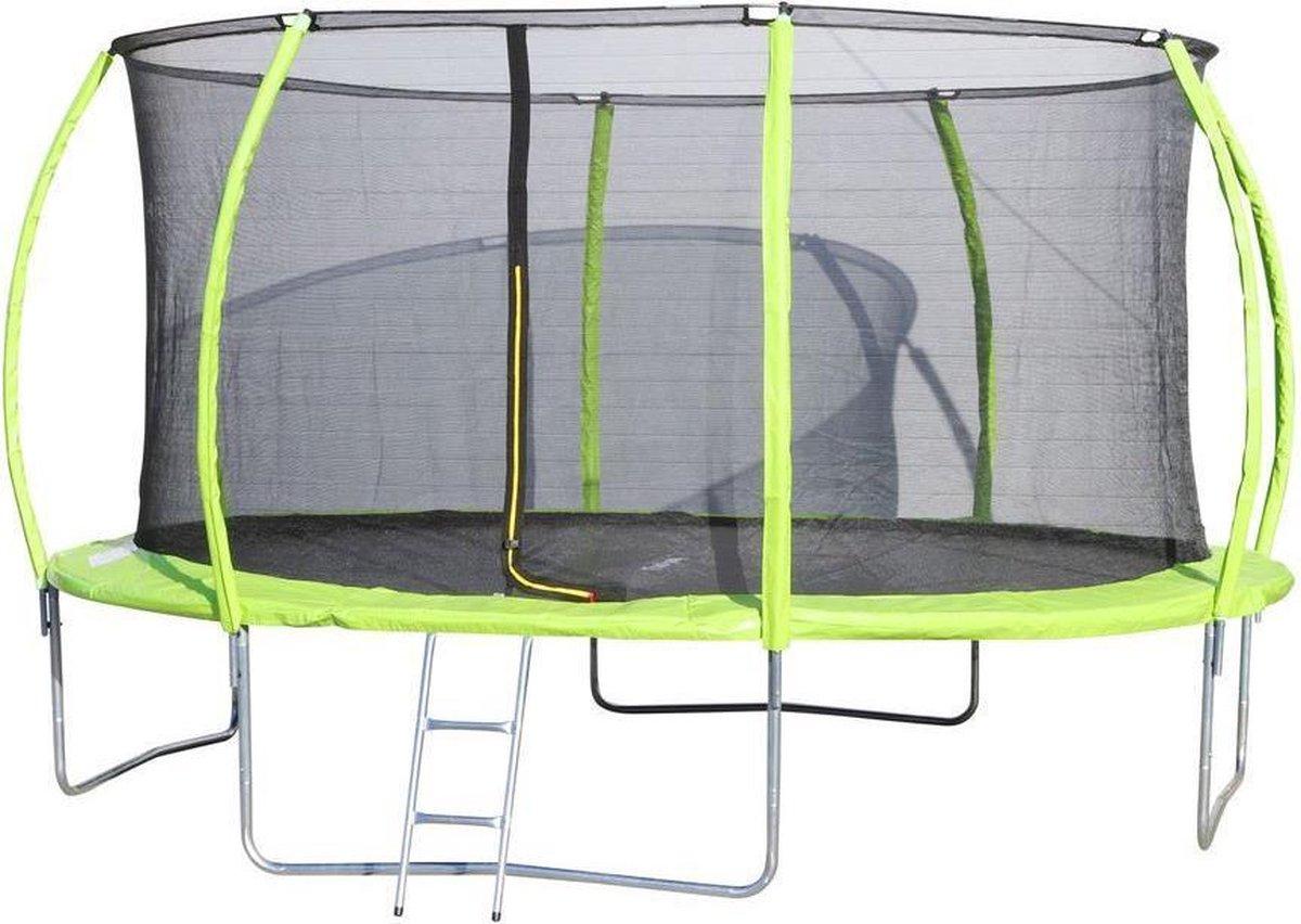 Trampoline Premium rond diam. 427 cm (incl. net & ladder)