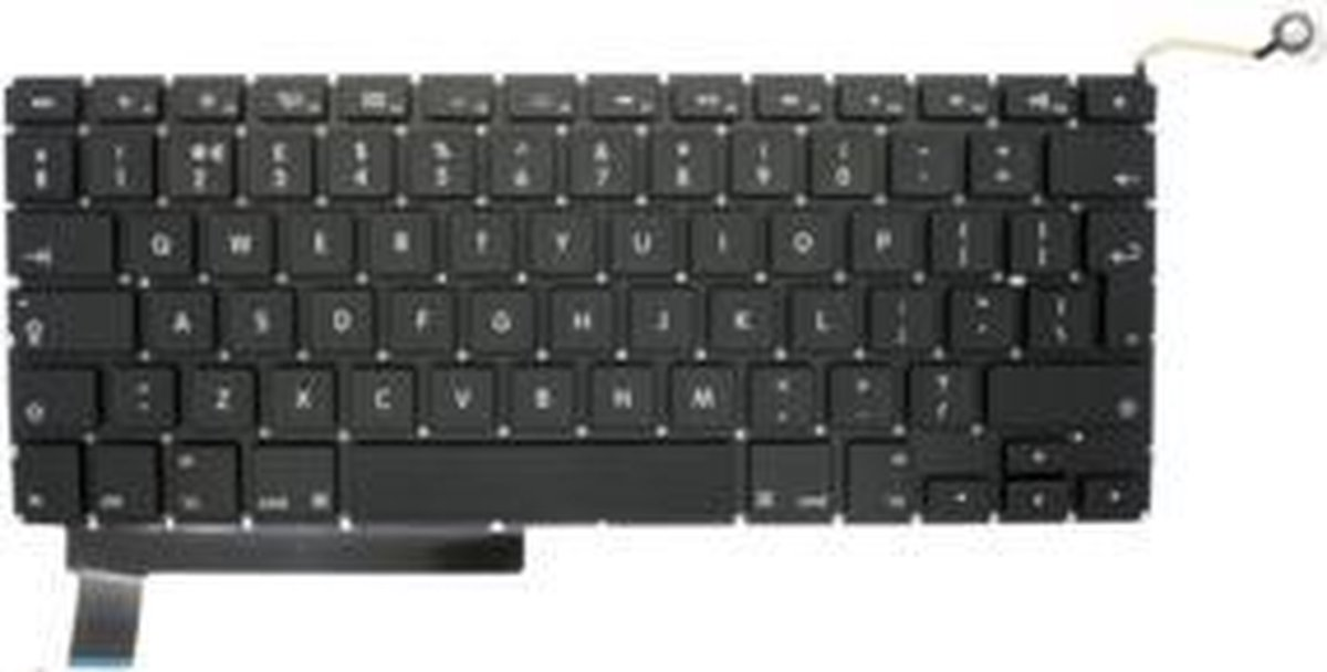 MacBook Pro 15 inch A1286 EU-UK toetsenbord 2009-2012 - Keyboard MacBook Pro 15 inch