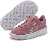Puma Sneakers - Maat 23 - Meisjes - roze - wit