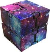 Infinity cube - Space multi – Fidget cube - Friemel kubus - gezien op Tiktok