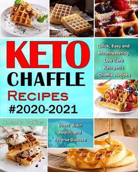 Bol Com Keto Chaffle Recipes 2020 2021 Amanda Collins 9781952832123 Boeken
