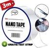 Nano tape 3 meter + Gratis test strip || Hoge kwaliteit - Herbruikbaar - Magic gekko nanotape - Dubbelzijdige tape
