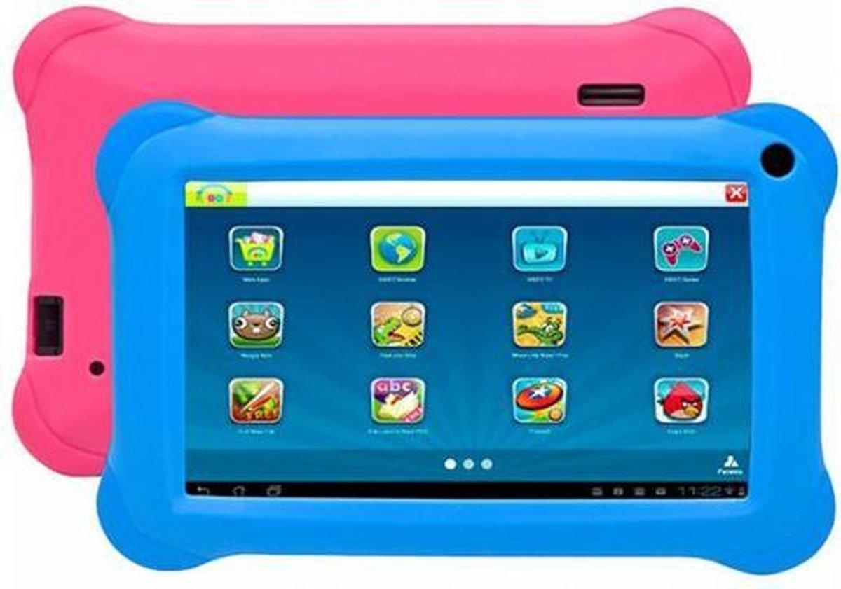 Denver TAQ-70353   Kindertablet   7 inch Quad Core tablet   Tablet voor kinderen met KIDO'z Software   16GB   Android 8.1GO   Blauw / Roze  