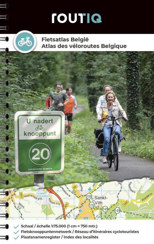Fietsatlas België - Atlas des véloroutes des Belgique - none |