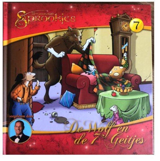 De wolf en de 7 geitjes sprookjes luister CD met boek 20 x 20 cm - Onbekend   Fthsonline.com