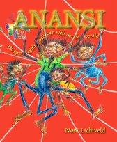 Anansi De spin weeft zich een web om de wereld