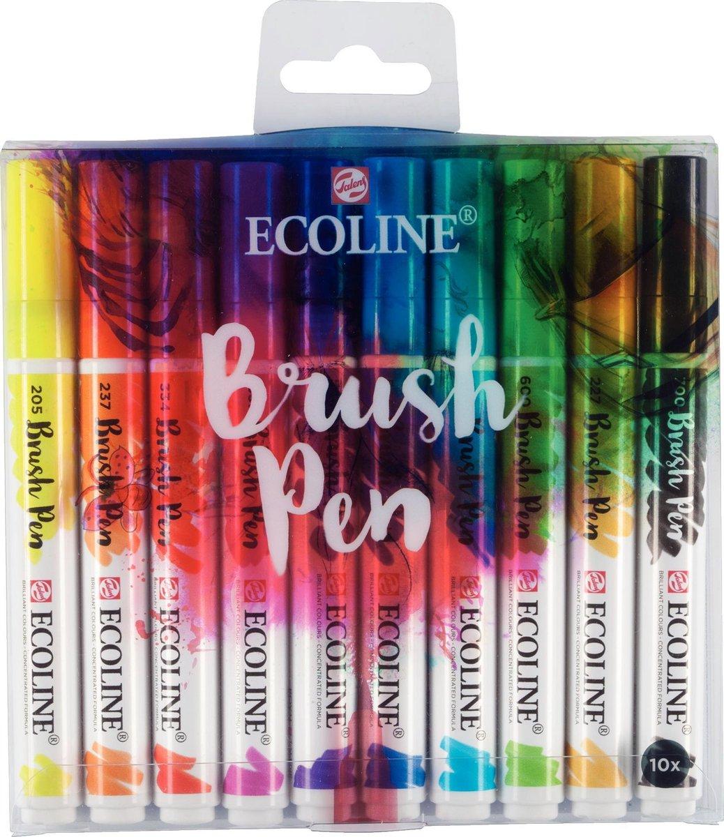 Talens Ecoline 10 Brush Pens