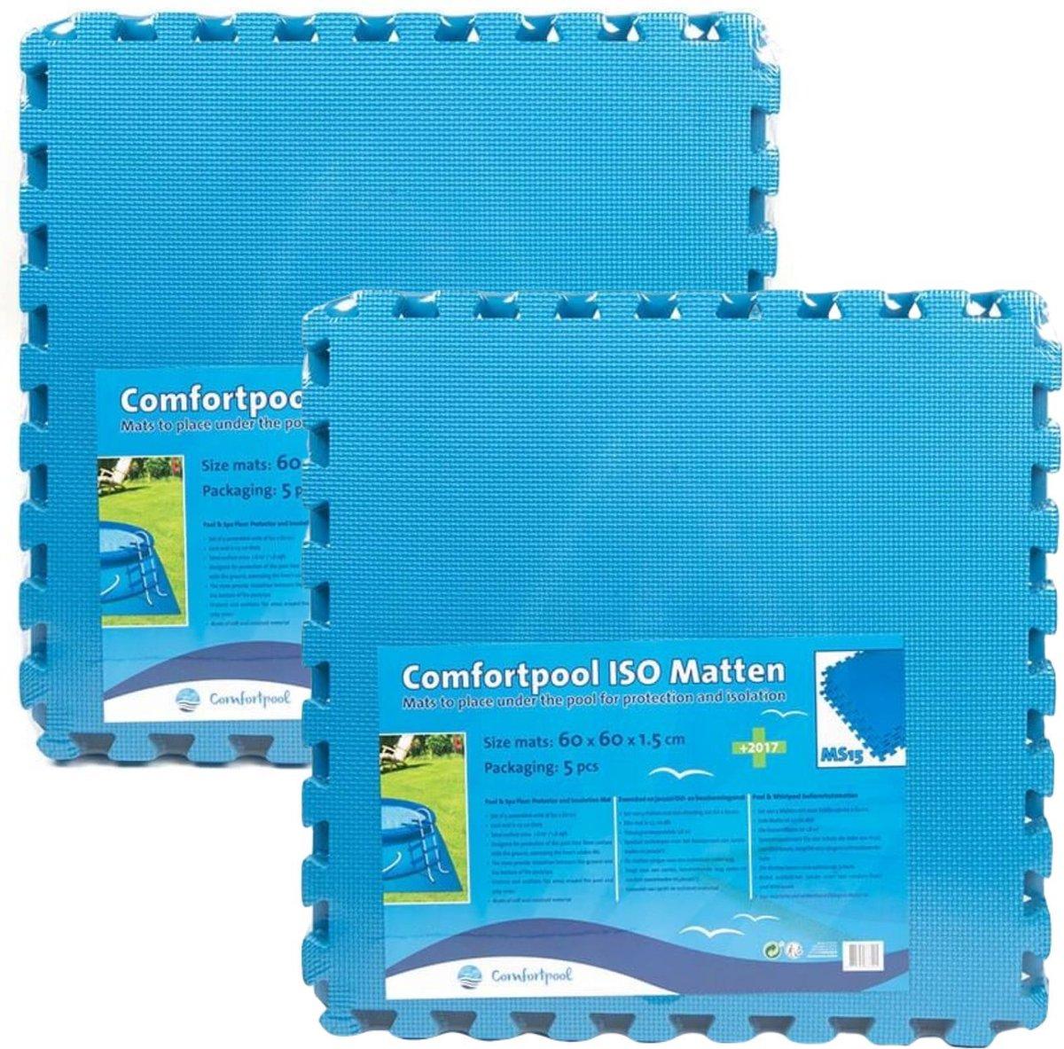 Comfortpool - Voordeelpakket - Zwembad tegels - 10 tegels - 60 x 60 cm - 3,6m²