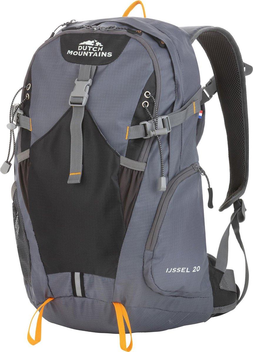 Dutch Mountains   IJssel  Backpack - Lichtgewicht Rugzak - Inclusief Regenhoes - 20 Liter