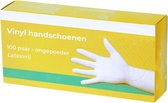 Handschoenen vinyl poedervrij 100 stuks (op voorraad) - Handschoenen vinyl poedervrij - Maat M - 100 stuks (op voorraad)