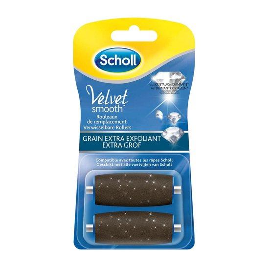Scholl Voetvijl - Navulling Velvet Smooth - Extra Grof - 2 Stuks