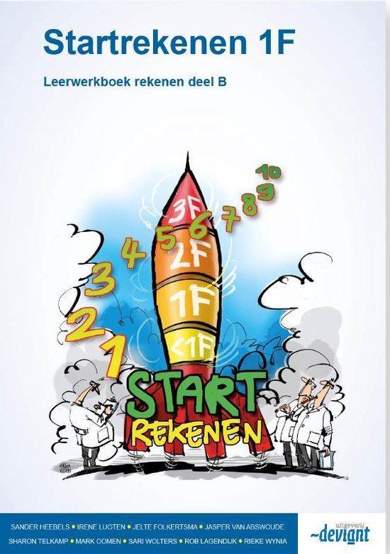 Startekenen 1F Deel B rekenen Leerwerkboek - Sander Heebels | Fthsonline.com