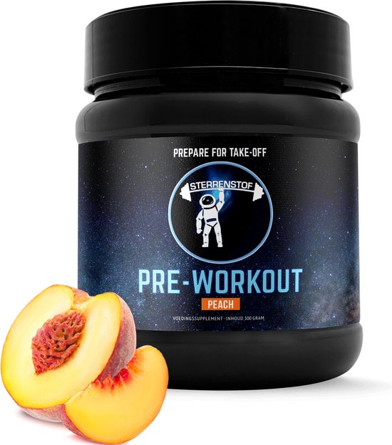 Sterrenstof Pre Workout – Peach – 40 Doseringen