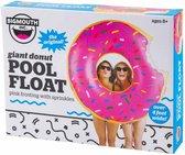 bigmouth - pool - float - opblaasbare - donut - zwembad  - 122cm doorsnee