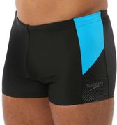 Speedo Dive Aquashort Sportzwembroek Heren - Black/Blue - Maat 6