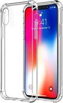 iPhone Xs Max Hoesje transparant tpu cover anti shock