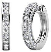 Yolora Sparkling Oorbellen Swarovski Kristallen - zilver kleurig - dames - YO-168