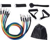 Fitness elastiek - Sportelastieken - Elastieken weerstandsbanden set