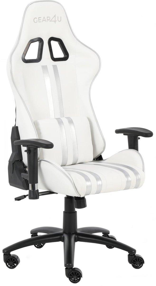 Gear4U Elite gaming stoel - gamestoel / game stoel - wit