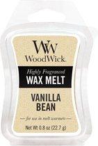 WoodWick wax melt Vanilla Bean 3 stuks