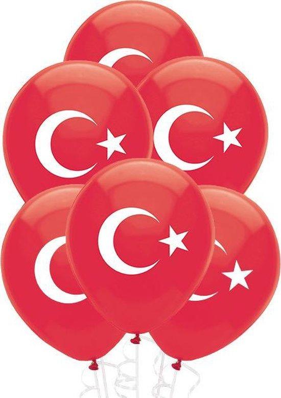 Party Colors Turkse Ballonnen 10 stuks l 30 cm