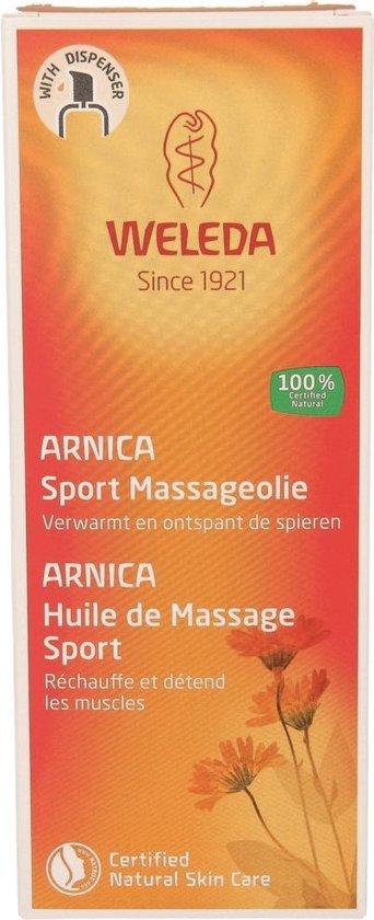 Weleda Arnica Sport Massageolie - 100 ml