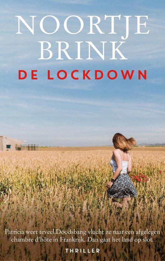Boek cover De lockdown van Noortje Brink (Onbekend)