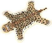 LIFETASTIC® Vloerkleed luipaard - Panter - Speelkleed - Tapijt - Extra zacht - Decoratie - Babykamer - Kinderkamer - Bruin - Scandinavisch - Antislip