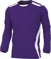 hummel Club Shirt l.m. Sportshirt - Paars - Maat S