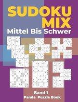 Sudoku Mix Mittel Bis Schwer - Band 1