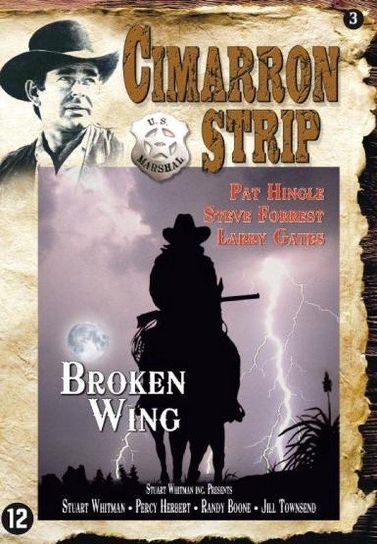 Cover van de film 'Cimarron Strip - Broken Wing'