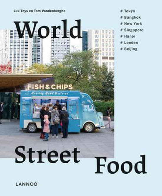 Boek cover World Street Food van Tom Vandenberghe (Hardcover)