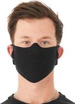 Basic mondkapje - mondmasker - masker zwart | 3 st