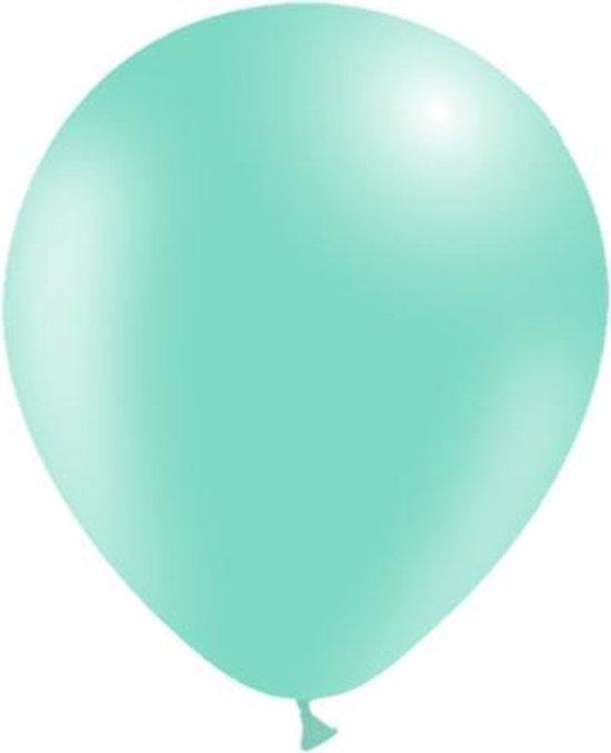 Lichtgroene Ballonnen 30cm 10st