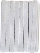 Elastiek koord 6mm breedte X 10 meter lengte, wit kleur!| Elastiek naaien