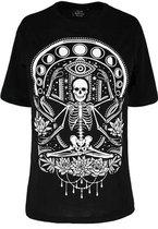 Restyle Top -M- Chill skeleton Zwart