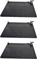 Intex solar mat - set van 3 - 120 x 120 cm - zwembad verwarming - voor op de pomp