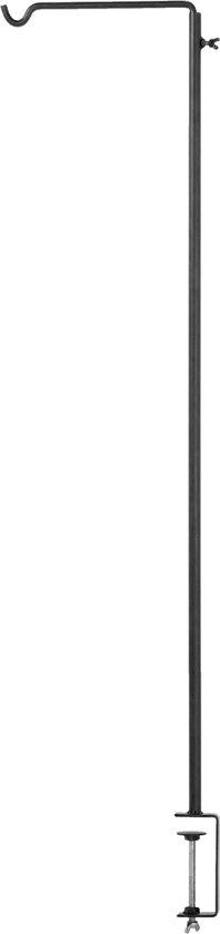 Tafelklem Zwart - BxH 20x92cm - Tafelklem Jiro Zwart Klein - Het Mandenhuys