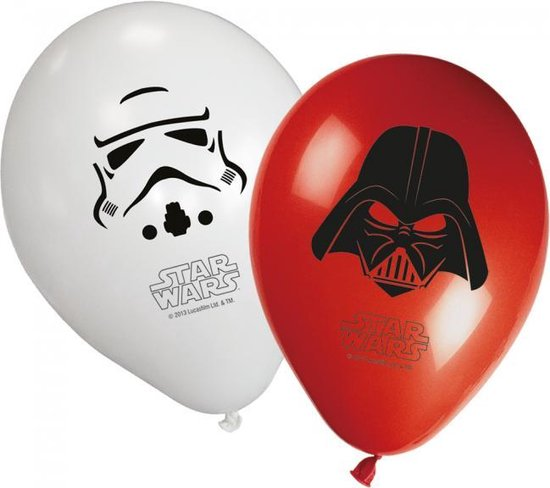 Star Wars Ballonnen 28cm 8st
