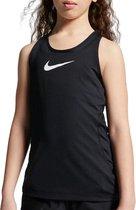 Nike Pro Sporttop - Maat 152  - Meisjes - zwart