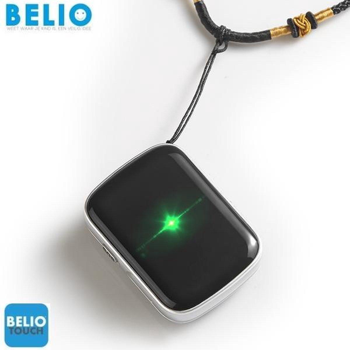 BELIO© GPS TRACKER POCKET - KIND - BOOT - AUTO - VOERTUIG - MET SOS KNOP