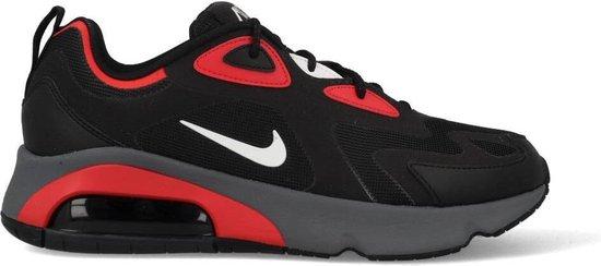Nike Air Max 200 CI3865-002 Zwart / Rood-44.5