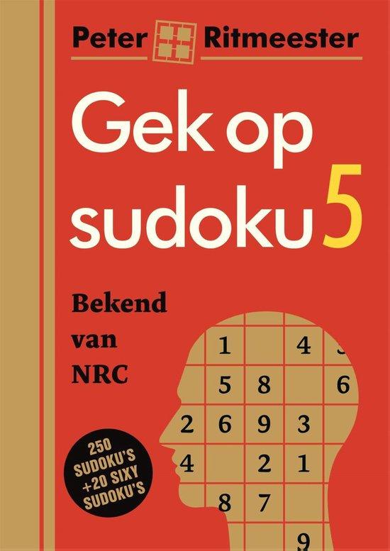 Afbeelding van Gek Op Sudoku 5