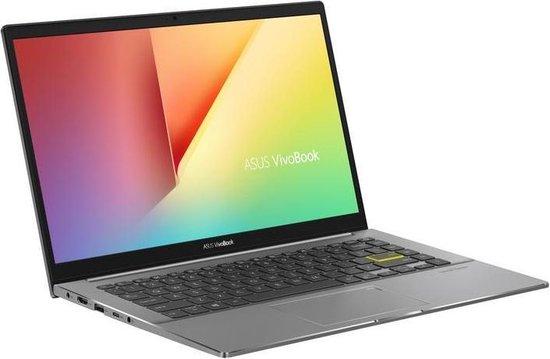 ASUS VivoBook S14 S433FA-EB081T Notebook Zwart, Grijs 35,6 cm (14'') 1920 x 1080 Pixels Intel® 10de generatie Core™ i7 8 GB DDR4-SDRAM 512 GB SSD Wi-Fi 6 (802.11ax) Windows 10 Home