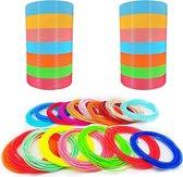 20 Kleuren Filament PLA 1.75MM - Filament Voor 3D-